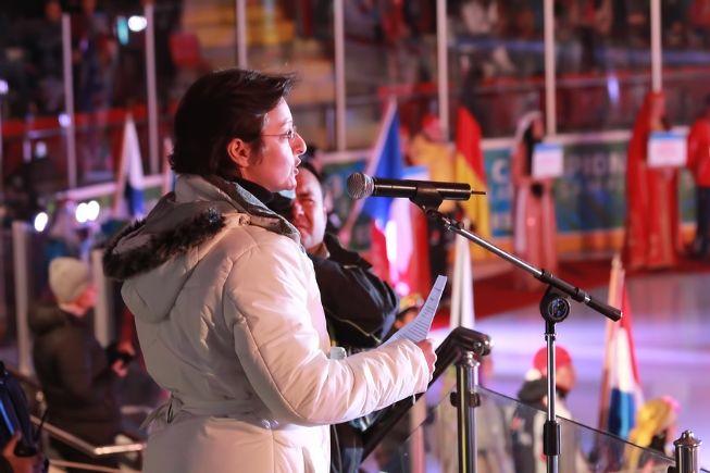 Dünya Gençler Kayak Şampiyonası Açılış