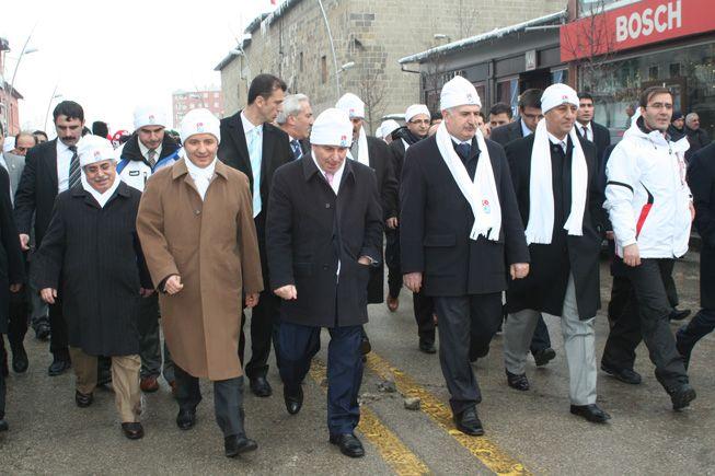 Erzurum'da kar festivali başladı