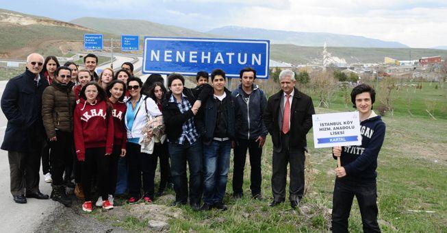 Kartal'dan Erzurum'a eğitim desteği