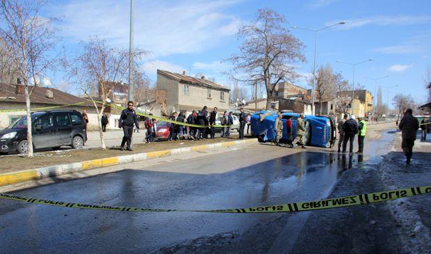 Erzurum'da askeri araç ile otobüs çarpıştı: 4'ü asker 6 yaralı