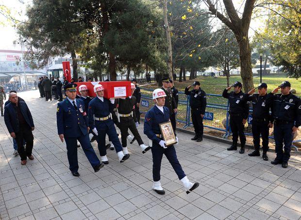 Erzurumlu şehide Bursa'da son görev