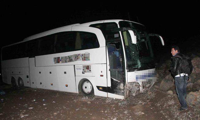 Erzincan'da trafik kazası 19 yaralı