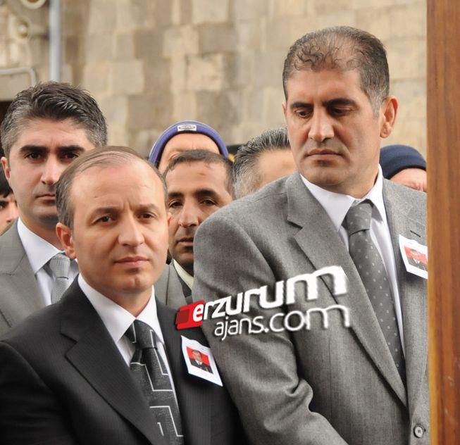 Erzurum'da başkanların bakışı