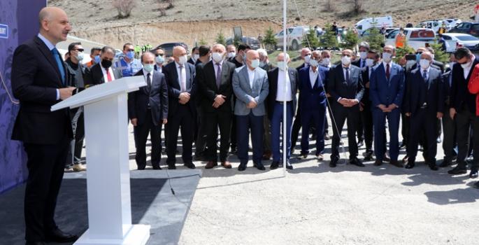 Bakan Karaismailoğlu, Kop Tünelini inceledi