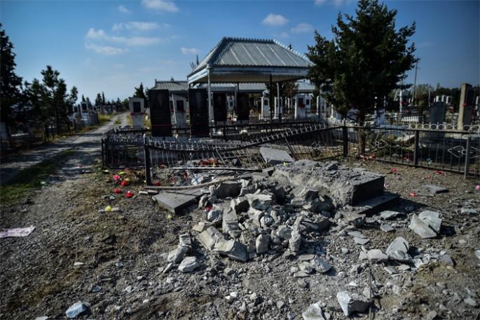Ermenistan Terter'de sivilleri vurdu!