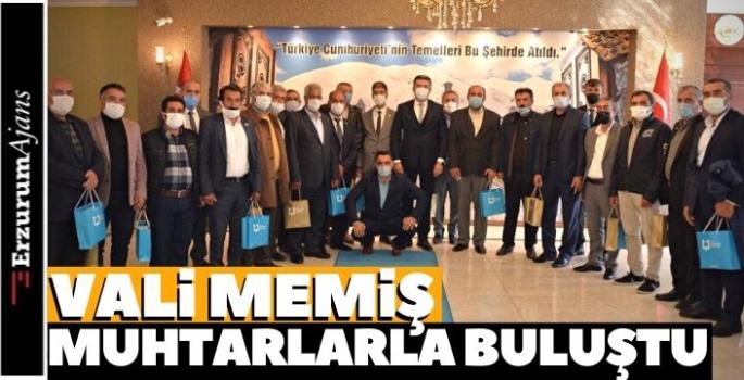 Erzurum'da 19 Ekim Muhtarlar Günü
