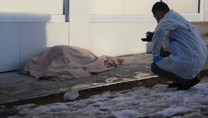 Erzurum'da korkunç ölüm...
