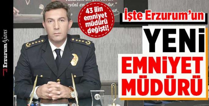 Erzurum İl Emniyet Müdürlüğü'ne Tuncer atandı