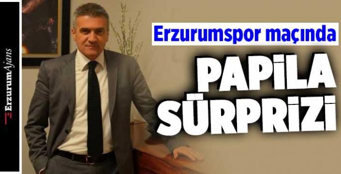 Erzurumspor maçında Papila'ya görev!