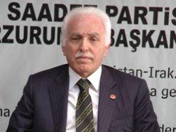 SP Genel Başkanı Kamalak Erzurum'da