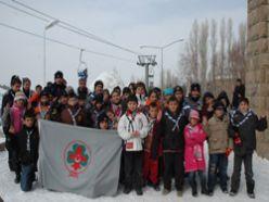 Erzurum izcileri kış kampına girdi