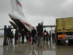 Yardım uçakları Erzurum`a akın ediyor