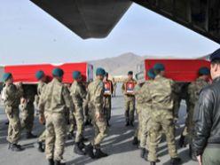 Afganistan'daki şehitlerimiz Türkiye'de
