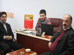 SP'den Erzurum Ajans'a ziyaret