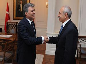 Abdullah Gül-Kemal Kılıçdaroğlu görüşmesi için olay yorum
