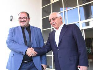 AFAD'dan Erzurum İtfaiye'ye kutlama ziyareti