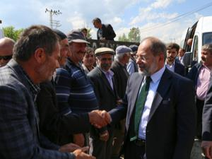 AK Parti'den Hınıs çıkarması