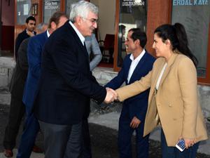 AK Parti Erzurum İl Başkanı Öz'den ilçe teşkilatlarına ziyaret