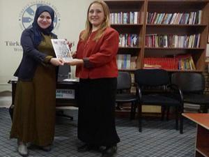 AK Parti Kadın Kolları TYB Erzurum Şubesi'ni ziyaret etti