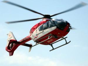 Ambulans helikopterin inişine izin vermediler
