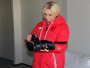 Anna Lukanova sporcuların 'annesi' oldu