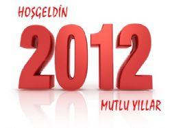Erzurum 2012`e işte böyle girdi