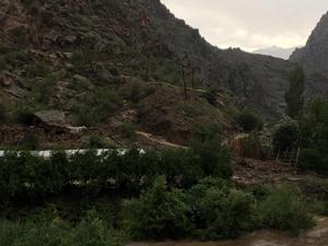 Artvin-Erzurum karayolu ulaşıma kapandı