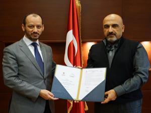 Atatürk Üniversitesi ile TÜBİTAK protokol imzaladı