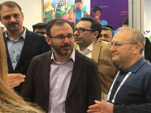 Atatürk Üniversitesi teknoloji fuarına katıldı