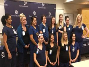 Aynı hastanede 16 hemşire birden hamile...
