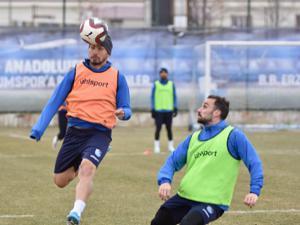 B.B. Erzurumspor'da Osmanlıspor maçı hazırlıkları sürüyor