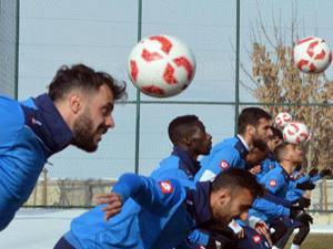 B.B. Erzurumspor'da Samsunspor maçı hazırlıkları