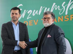 B.B. Erzurumspor'dan sponsorluk anlaşması