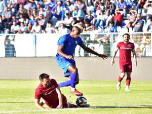 B.B. Erzurumspor üçüncü hazırlık maçında mağlup oldu