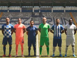 B.B. Erzurumspor yeni sezon formalarını tanıttı