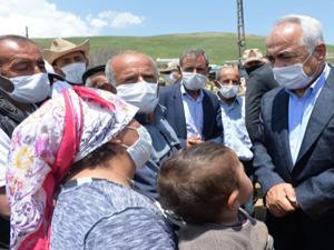 Bakan Yardımcısı Ersoy deprem bölgesinde