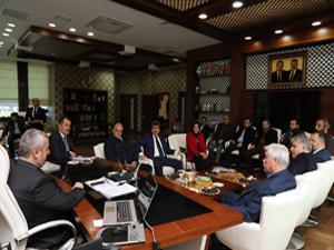 Başkan Baran, ziyaretçilerini ağırladı