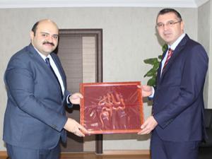 Başsavcı Bölükbaşı'ndan Başkan Orhan'a ziyaret