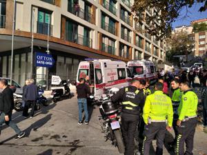 Beyoğlu'nda kadın turiste demirli saldırı