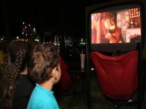 Büyükşehir'den yazlık sinema