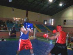 Büyükler boks il birinciliği yapıldı