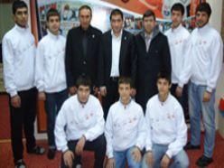 7 Karateci Antalya yolcusu