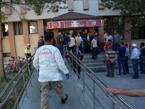 Cenazeler otopsi için Erzurum'a getirildi
