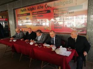 CHP Milletvekilleri İspir'e çıkarma yaptı