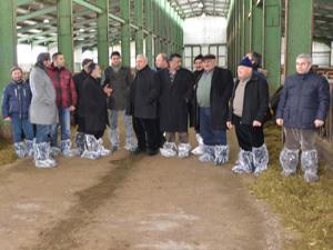 Çiftçilerin tecrübe paylaşımına ETSO ABBM'den destek