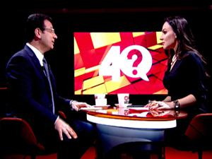 CNN Türk'te İmamoğlu'nun konuşması yarıda kesildi!