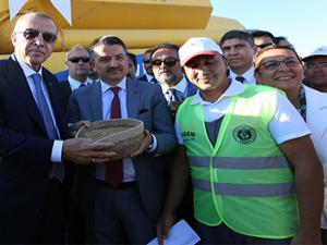 Cumhurbaşkanı Erdoğan'dan çiftçiye müjde...