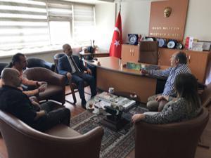 Cumhuriyet Başsavcısı İnal'dan DAGC'ye veda ziyareti