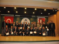 ETSO`da sertifika töreni