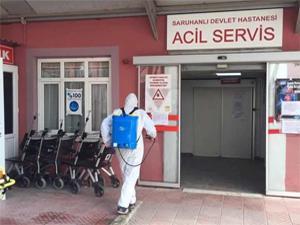 Devlet Hastanesi koronavirüs nedeniyle kapatıldı